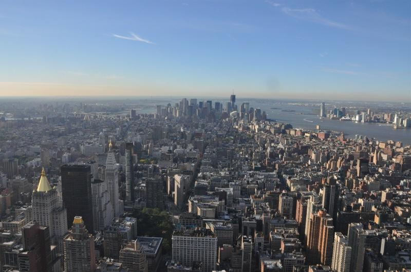 New York - view from Empire State Building