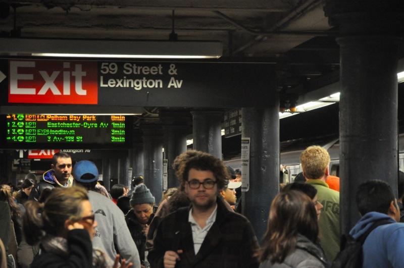 New York - the subway