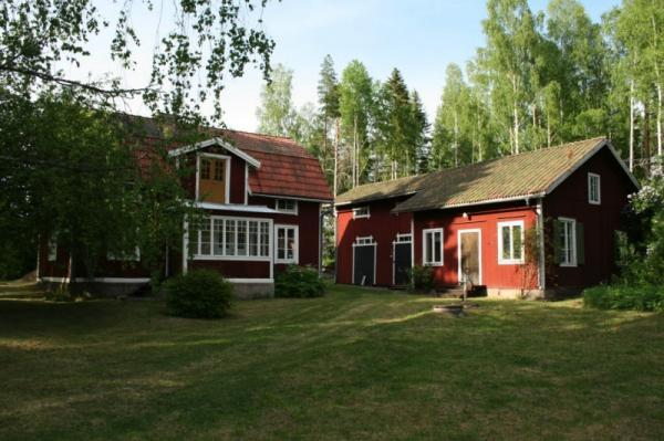 "Our summer house, in ""Djup, Avesta"", not far from the river Dalalven. 100% Internet free zone!"