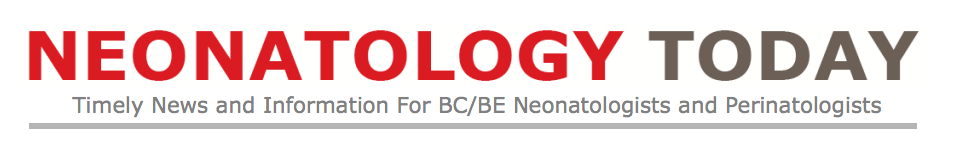 <strong>NEONATOLOGY TODAY - Strategic Partner</strong>