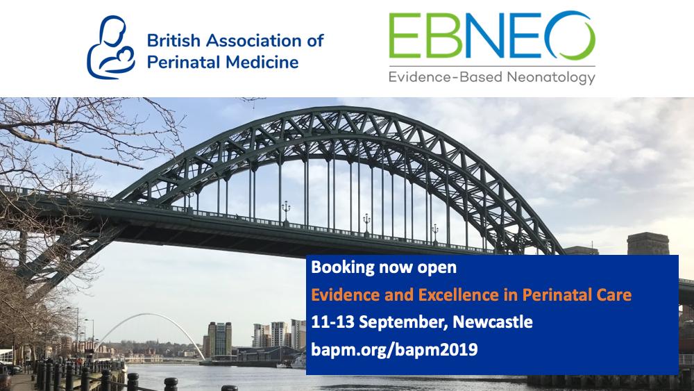 BAPM / EBNEO, 11-13 September 2019, Newcastle (UK)
